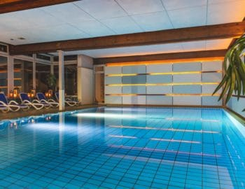 Swimming pool at Hotel Sonnhalde