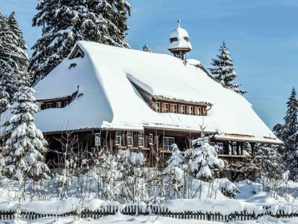 Heimatmuseum Hüsli im Winter