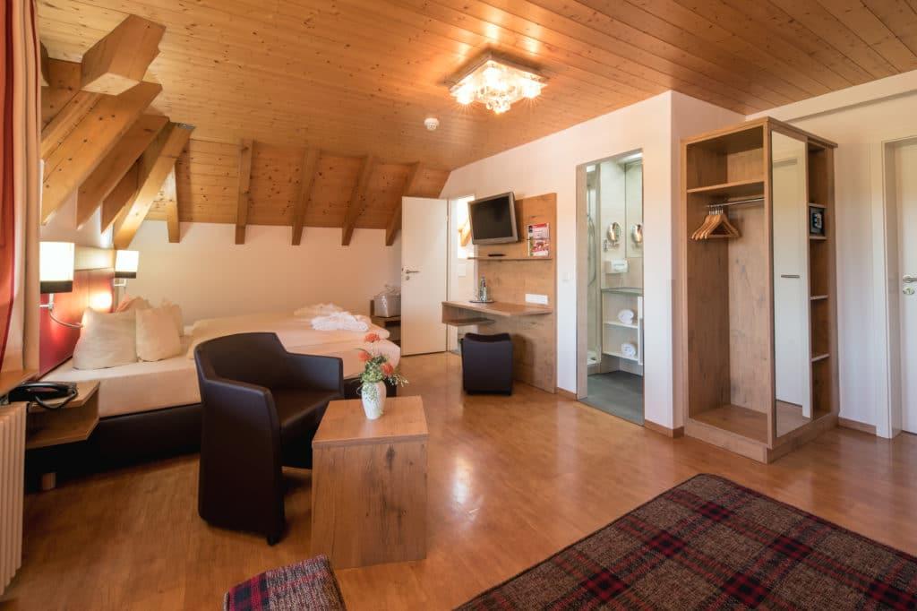 Deluxe Zimmer im Hotel Sonnhalde