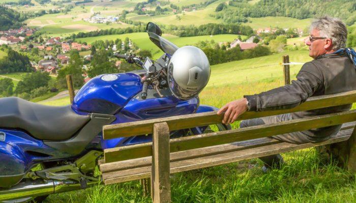Sonnenhof - Motorrad