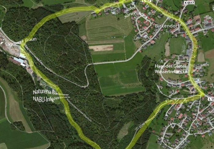 Pequeña caminata alrededor de Birkendorf