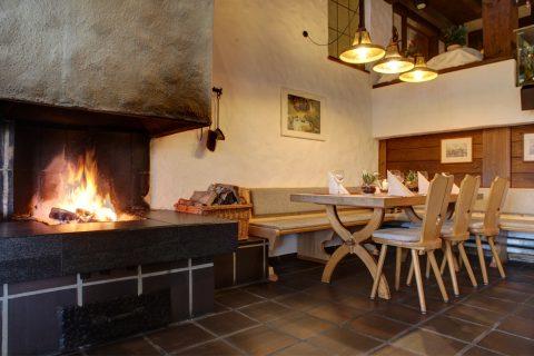 Grillraum im Restaurant Sonnenhof