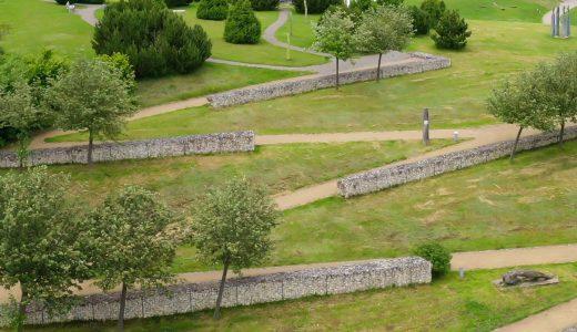 Breite Wege im Skulpturenpark Grafenhausen