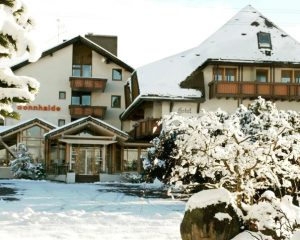 Hotel Sonnhalde im Winter